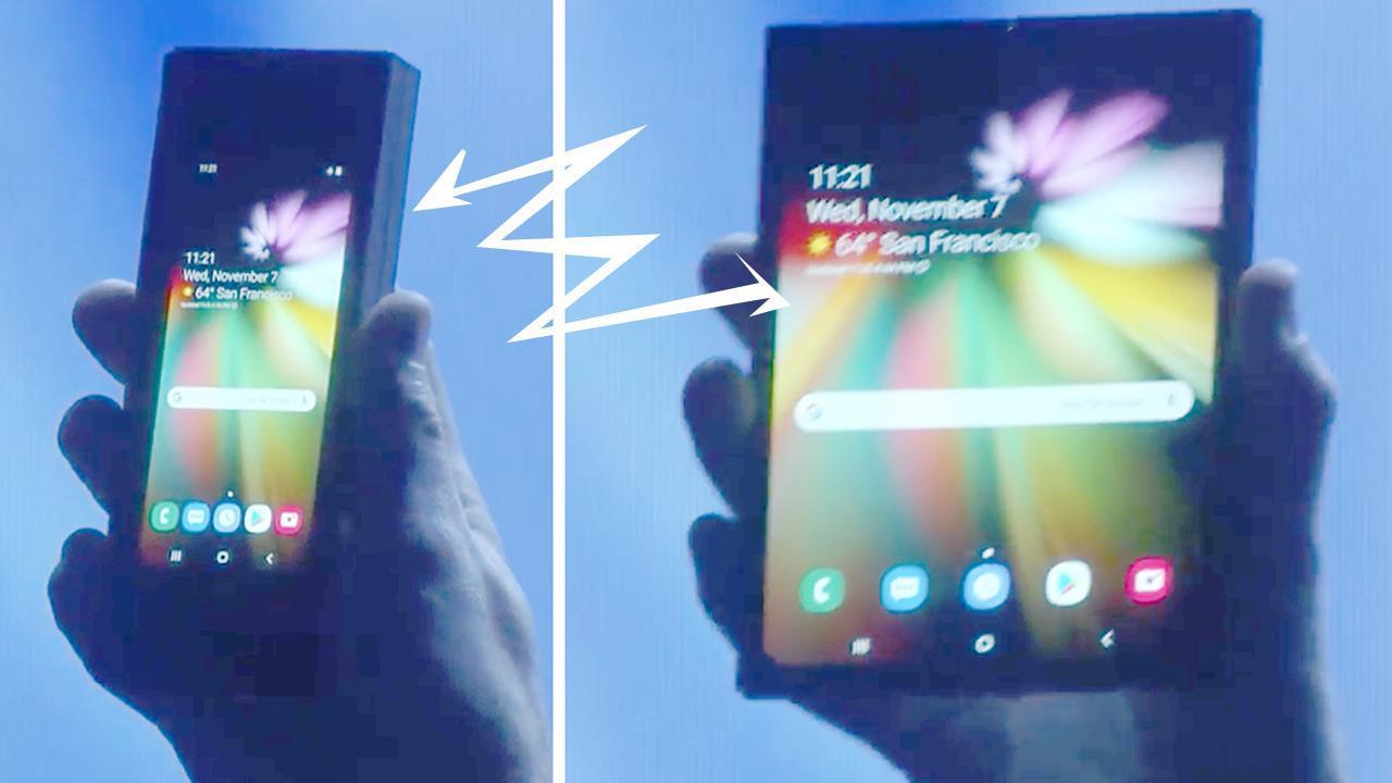 Primeiros detalhes do lançamento do Galaxy Fold do 5G