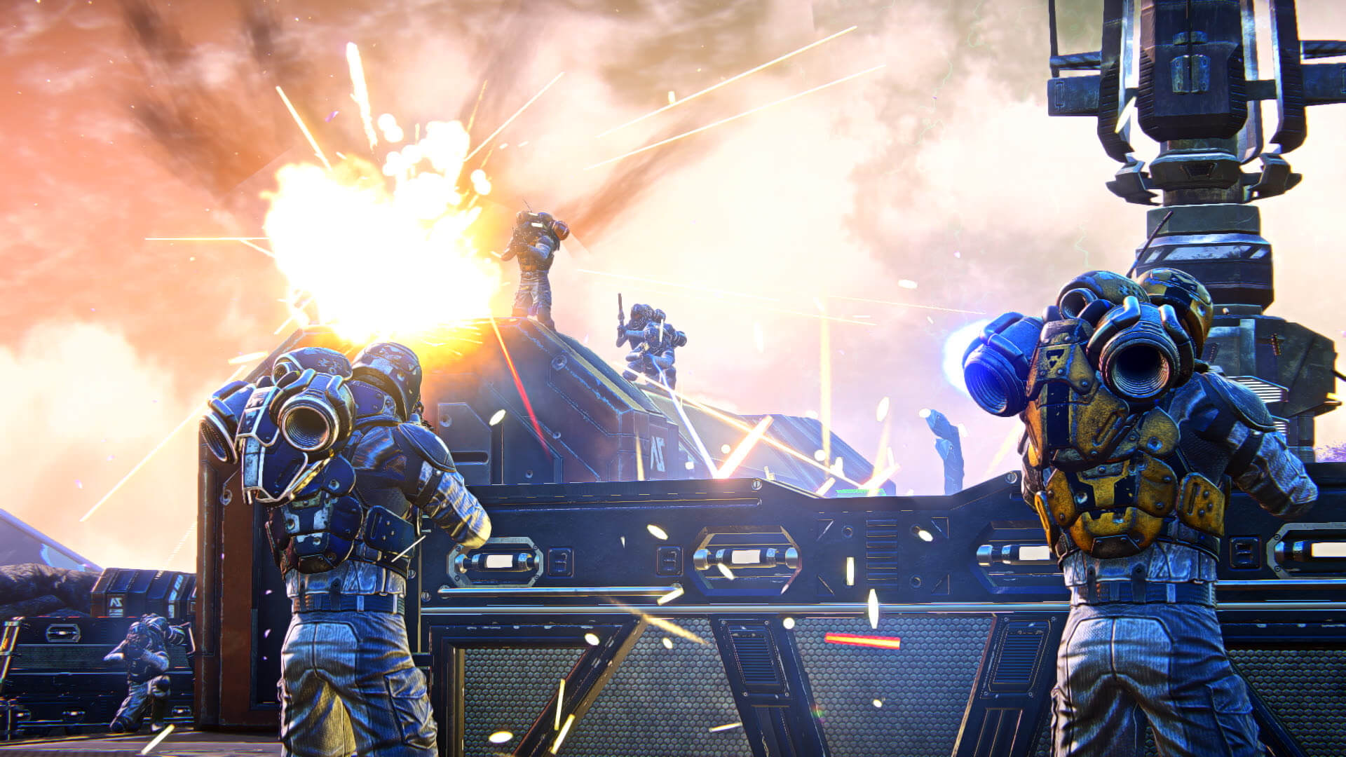 First gameplay footage released for PlanetSide Arena