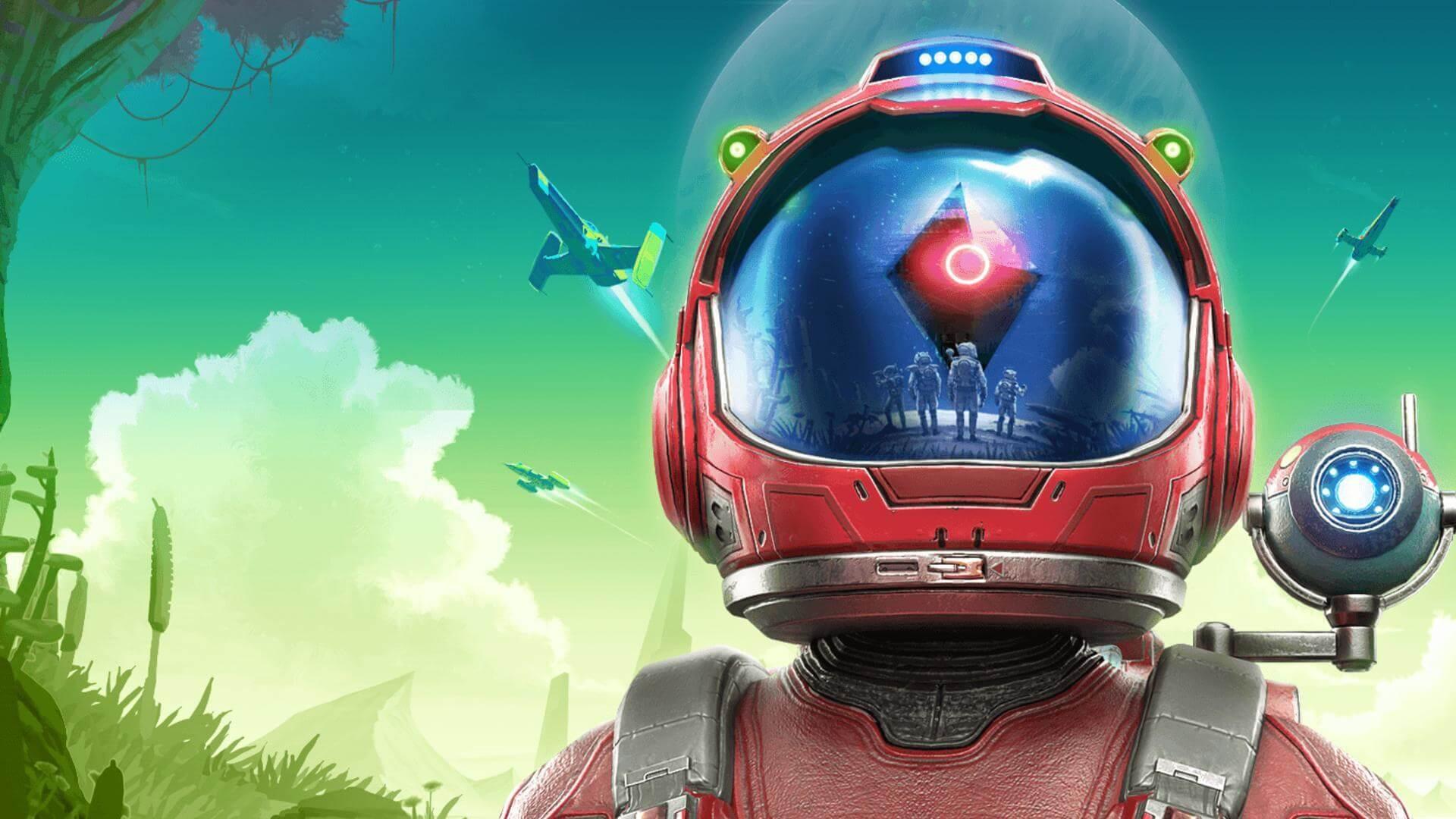 Primeiros mods lançados para No Man's Sky Beyond;  grama, efeitos, debaixo d'água ...