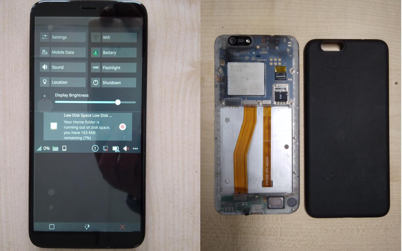 Protótipos de telefone PinePhone Linux serão enviados aos desenvolvedores este mês