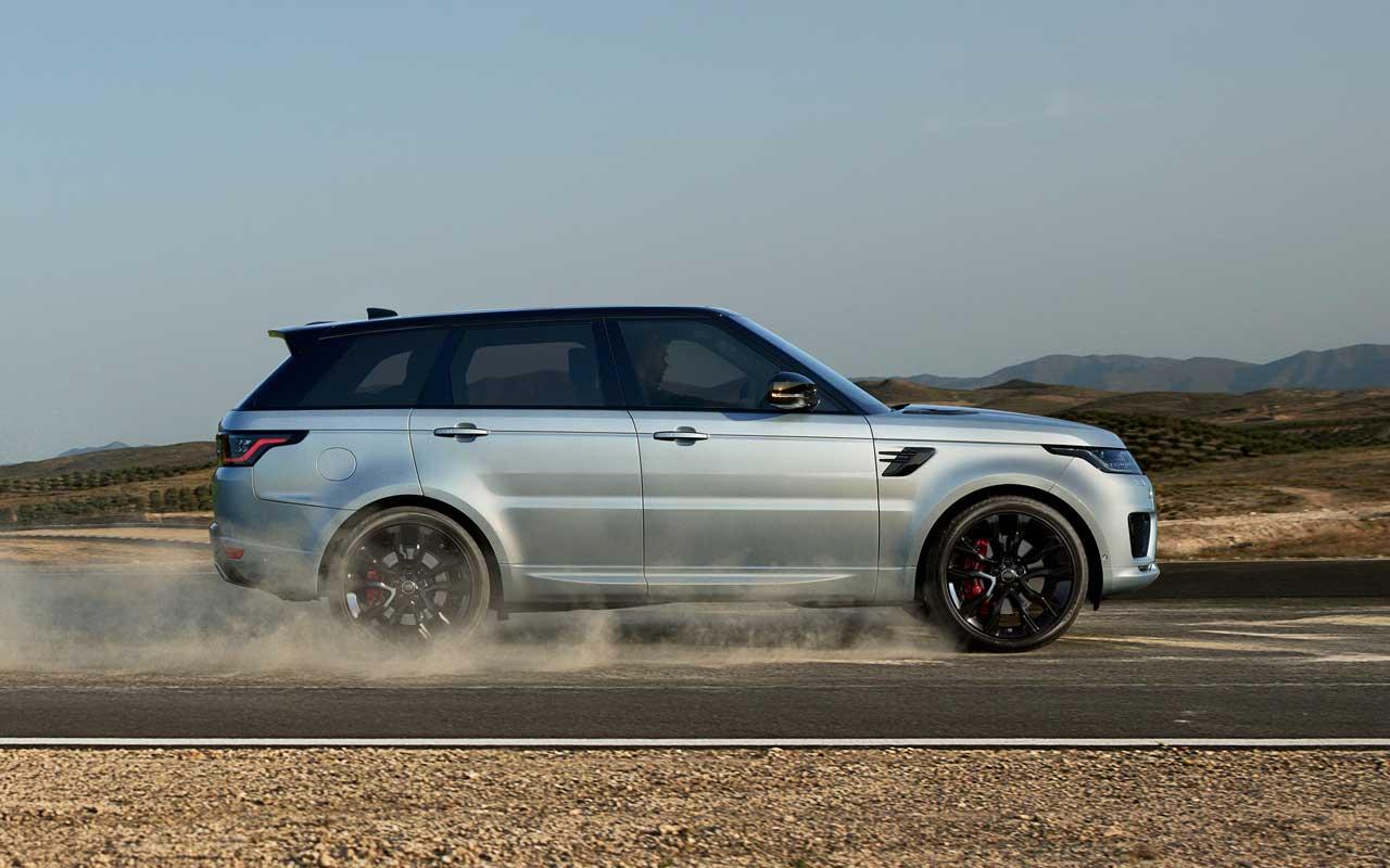 Range Rover Sport HST adiciona 400PS em linha e seis com tecnologia híbrida leve