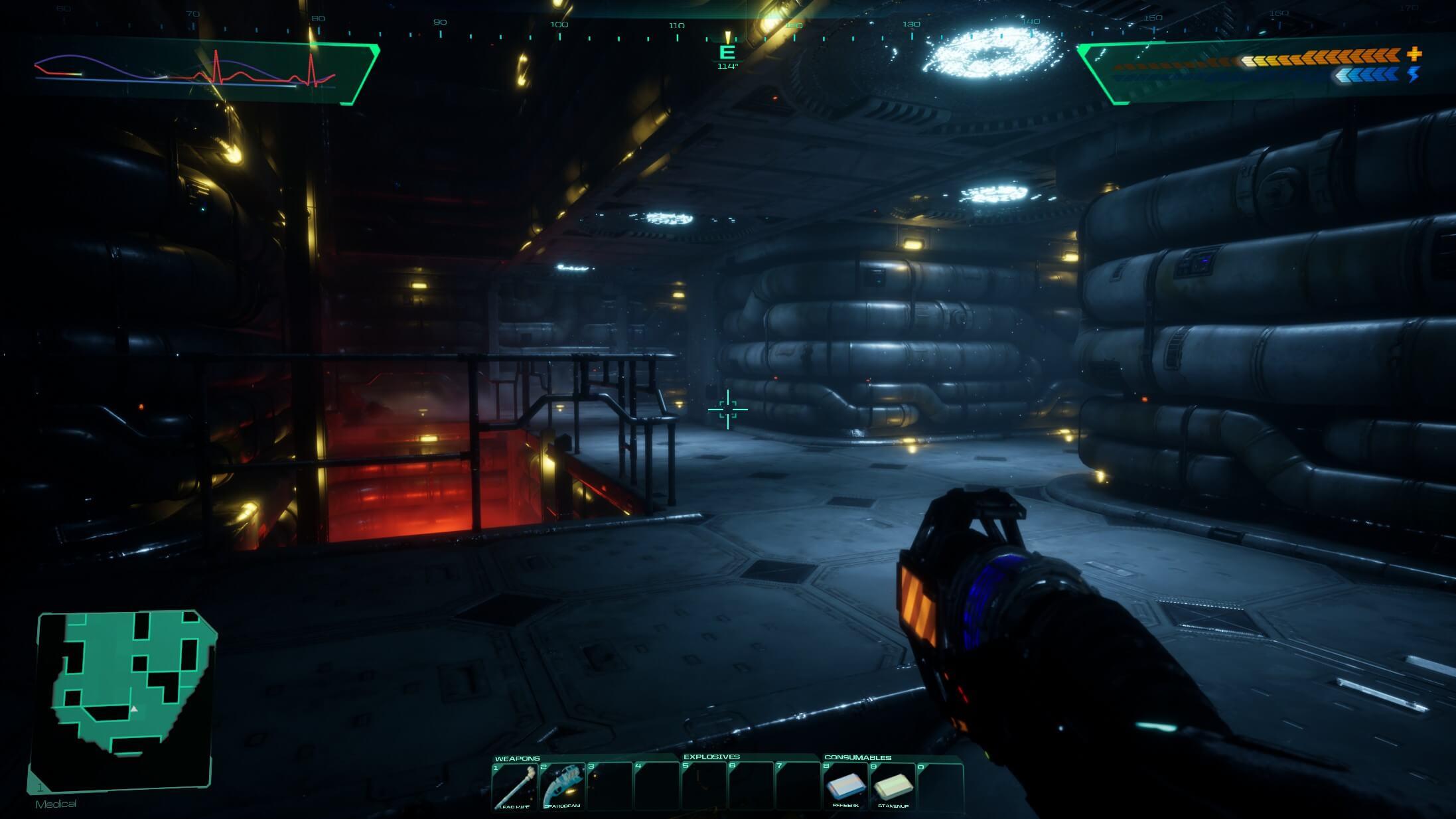 Remake de Choque do Sistema - Demonstração do Unreal Engine 4