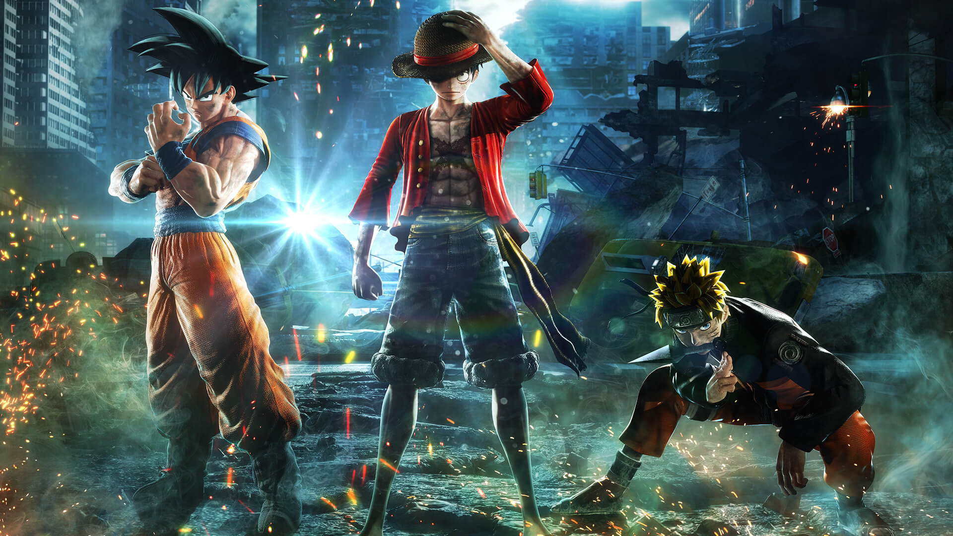 JUMP FORCE runs really smooth on the PC but suffers from console porting issues