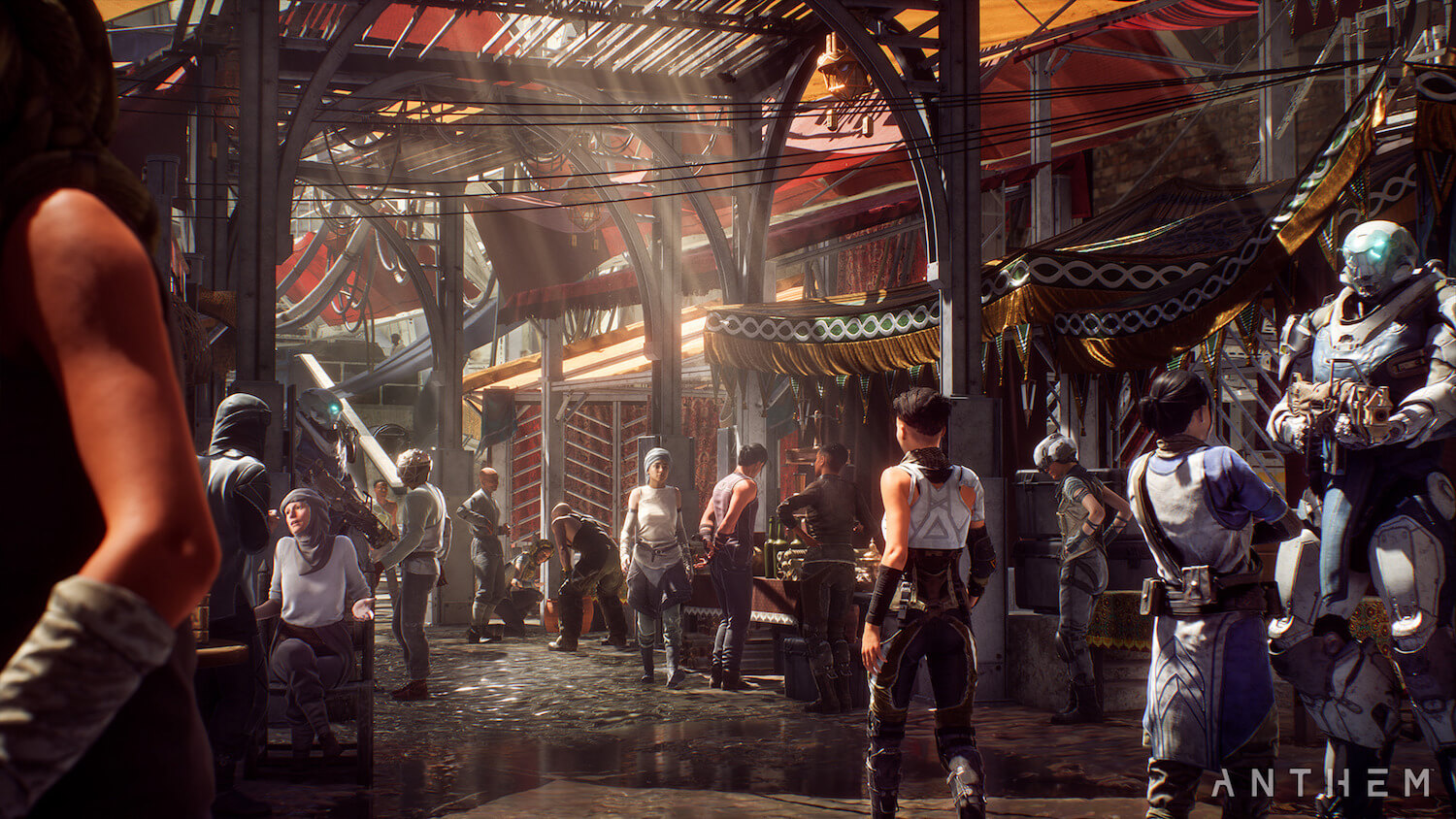 Official PC requirements for Anthem revealed, 16GB of RAM and more than 50GB of free HDD space