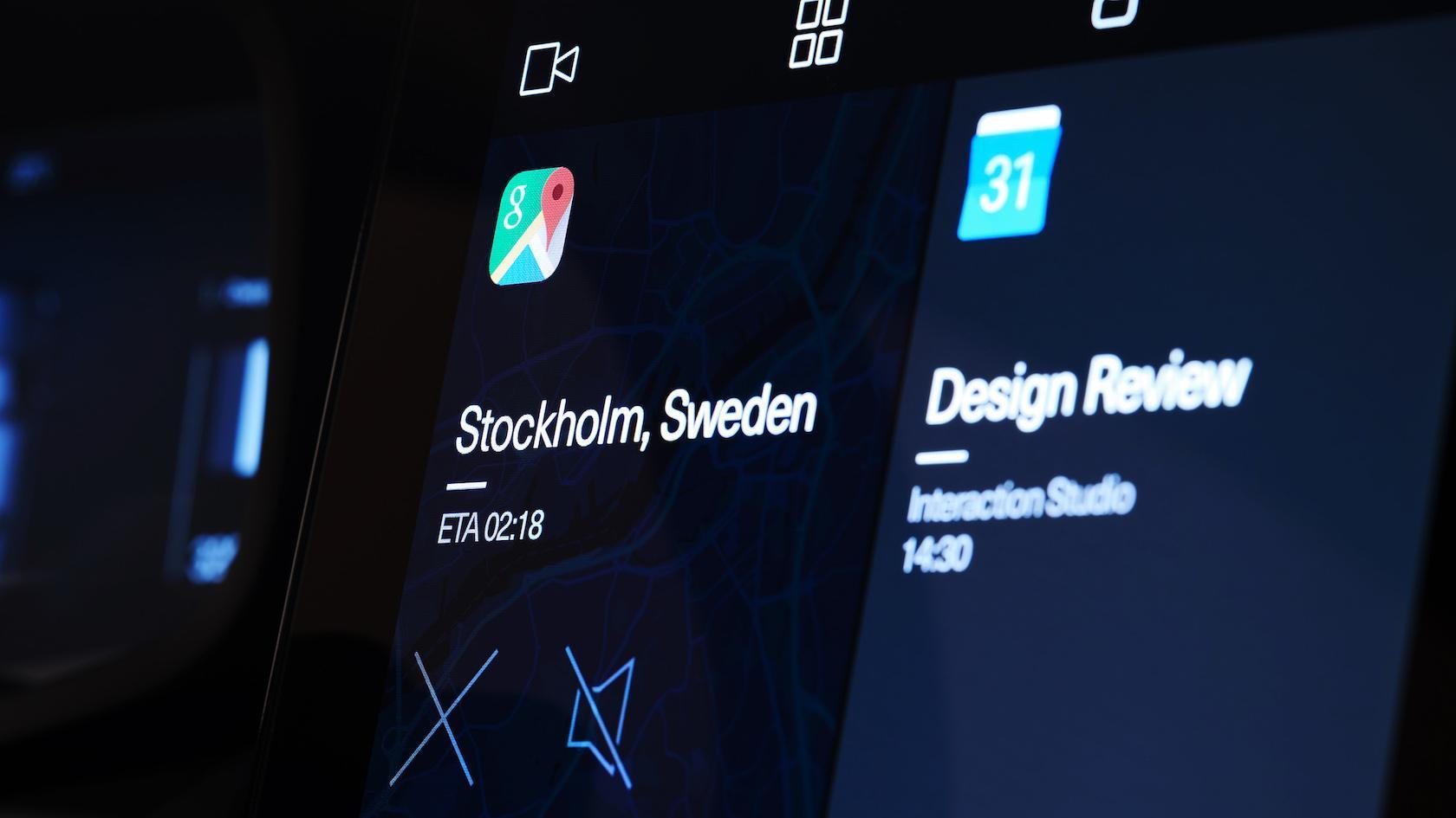 Revelado o painel do Polestar 2 com Android - e uma surpresa
