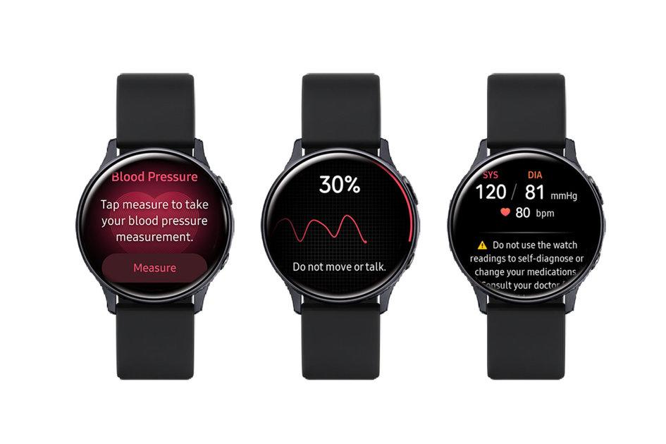 Samsung traz monitoramento de pressão arterial para o Galaxy Watch Active 2 com ...