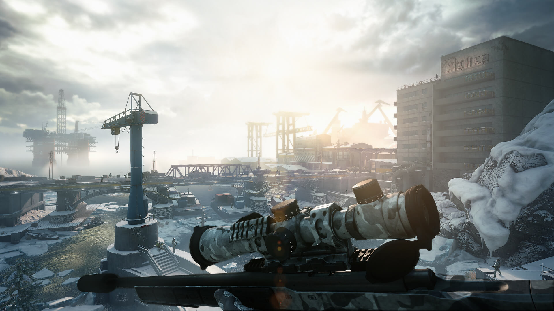 First patch and free content available now for Sniper Ghost Warrior Contracts