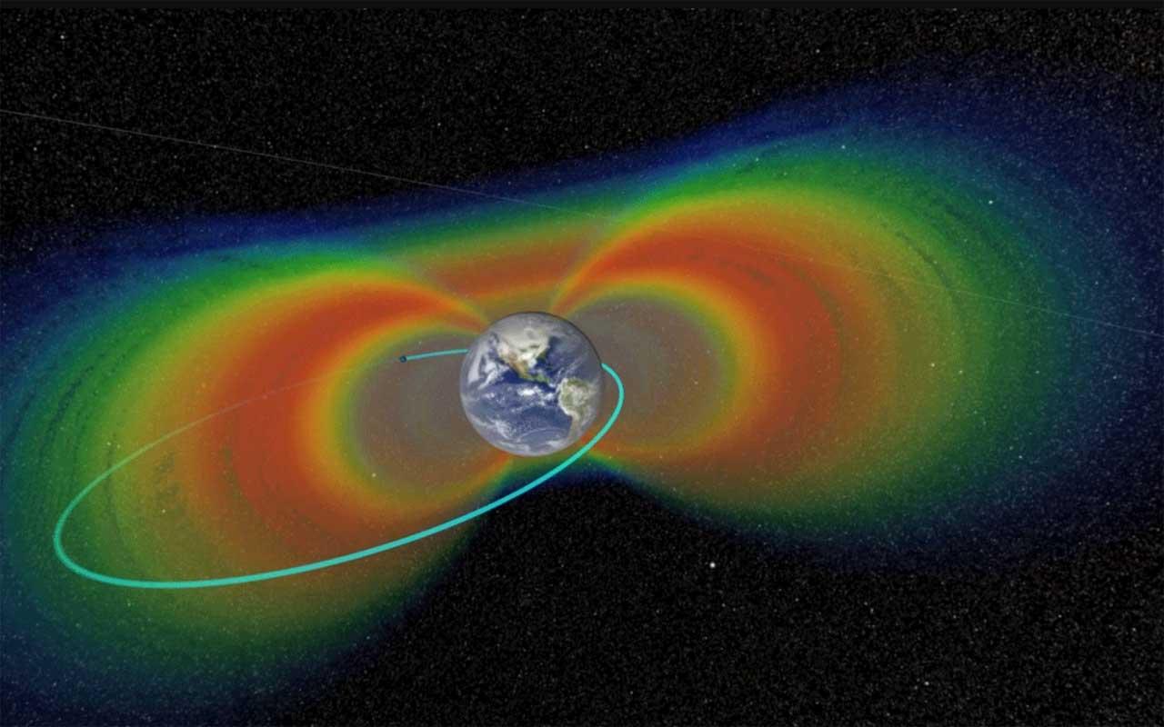 Sondas Van Allen entram na última fase da exploração de cinturões de radiação