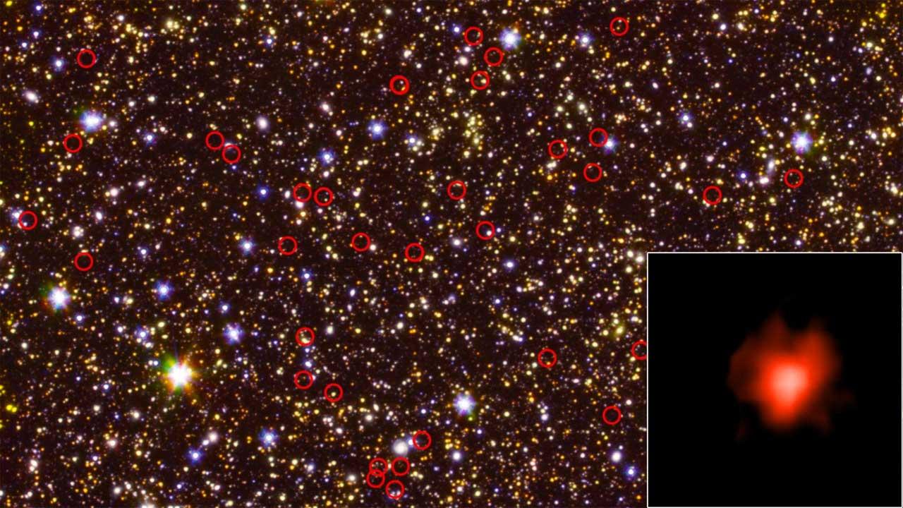Spitzer da NASA descobre que galáxias antigas são mais brilhantes do que o esperado