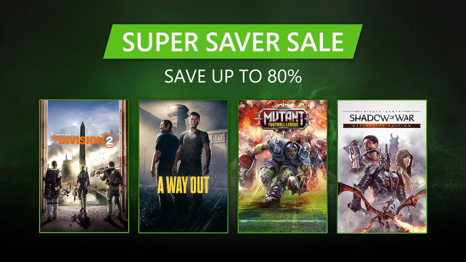 Super Saver Sale: Grandes promoções em seus jogos favoritos