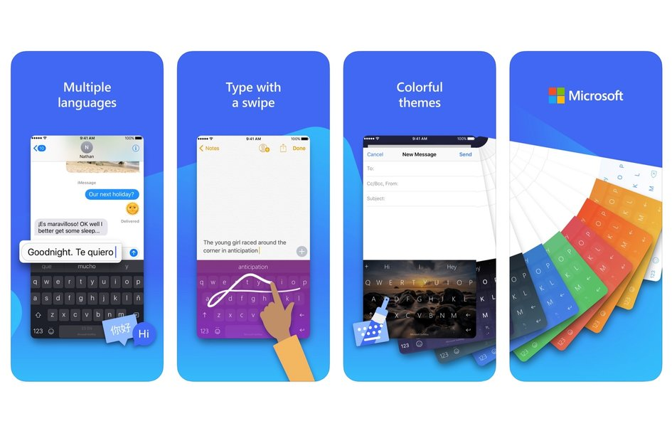 SwiftKey é atualizado no iOS, trazendo suporte para 400 idiomas, modo com uma mão