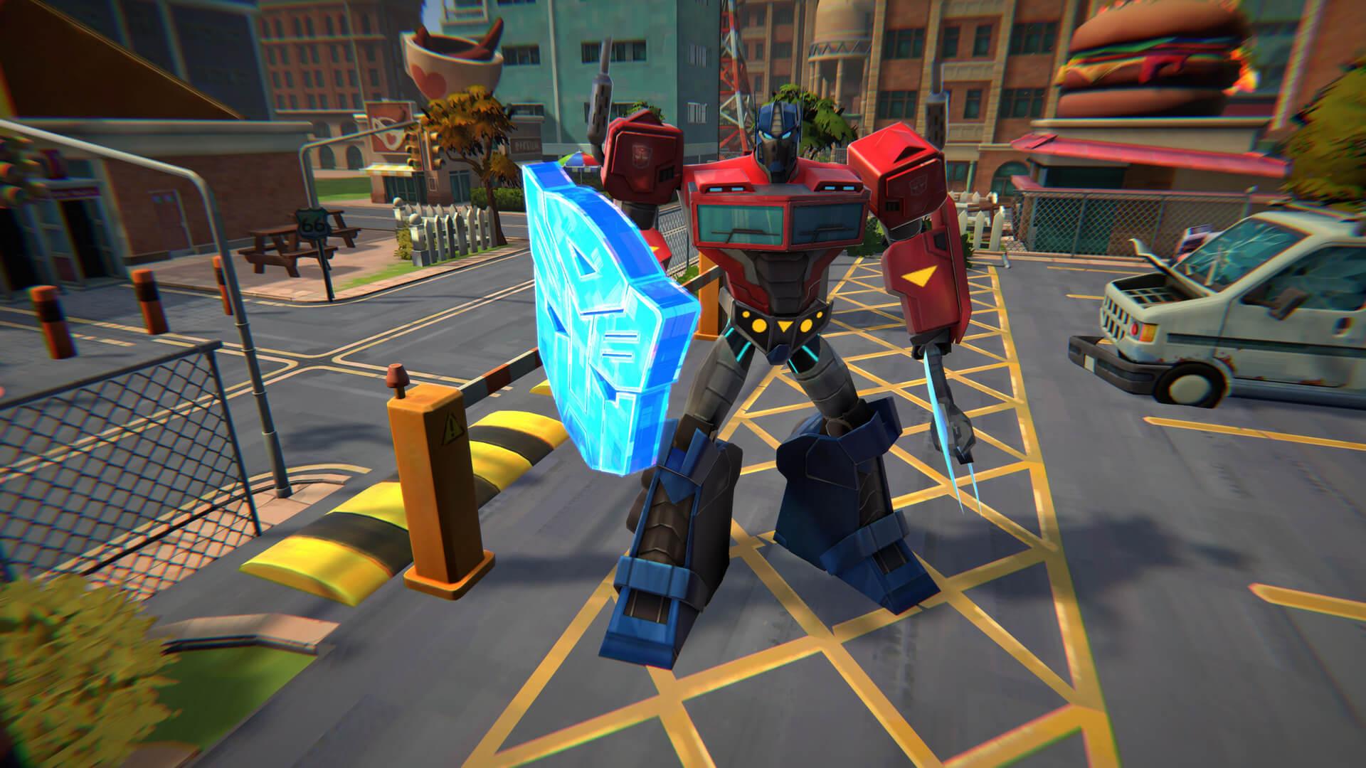 TRANSFORMERS: BATTLEGROUNDS anunciado, chegando ao PC em outubro