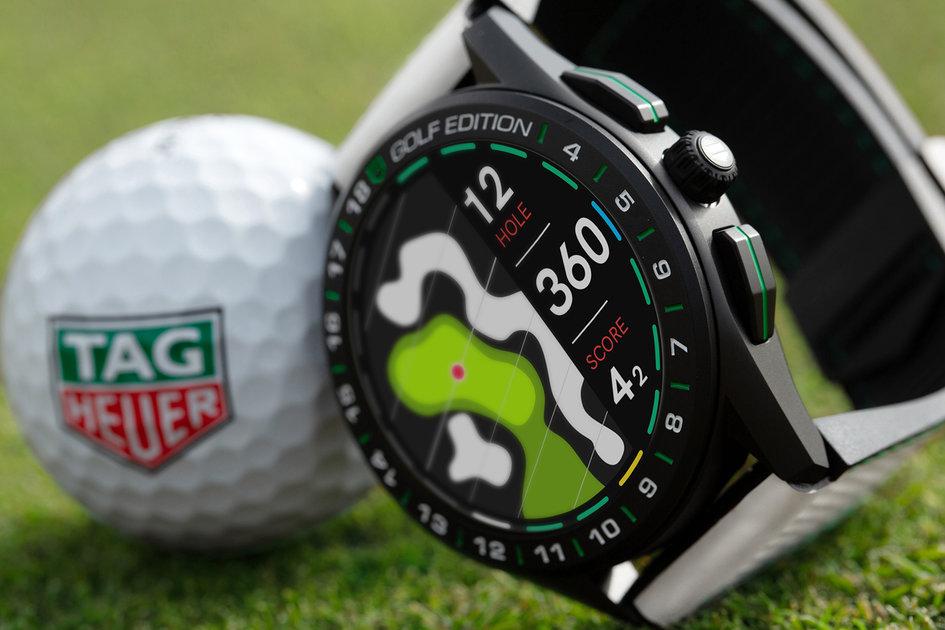 Tag Heuer Golf Edition smartwatch atualizado para 2020