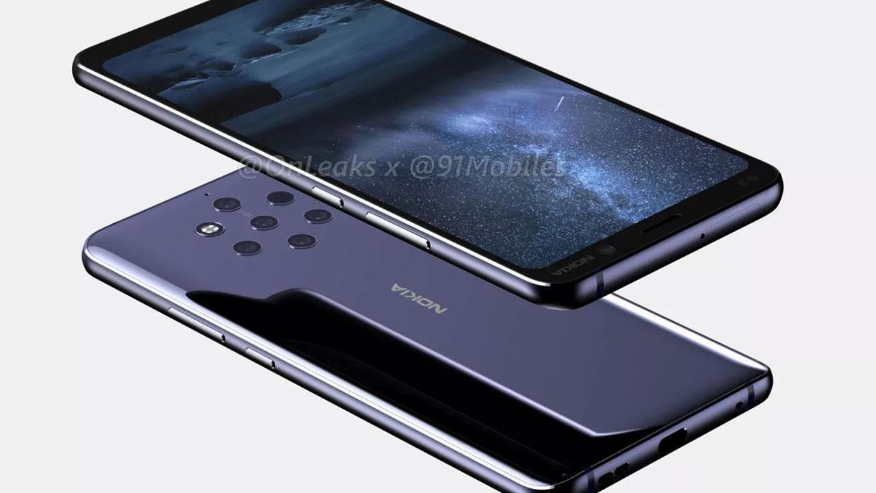 Teaser de 9 MWC da Nokia confirma câmeras penta-lens e punch hole