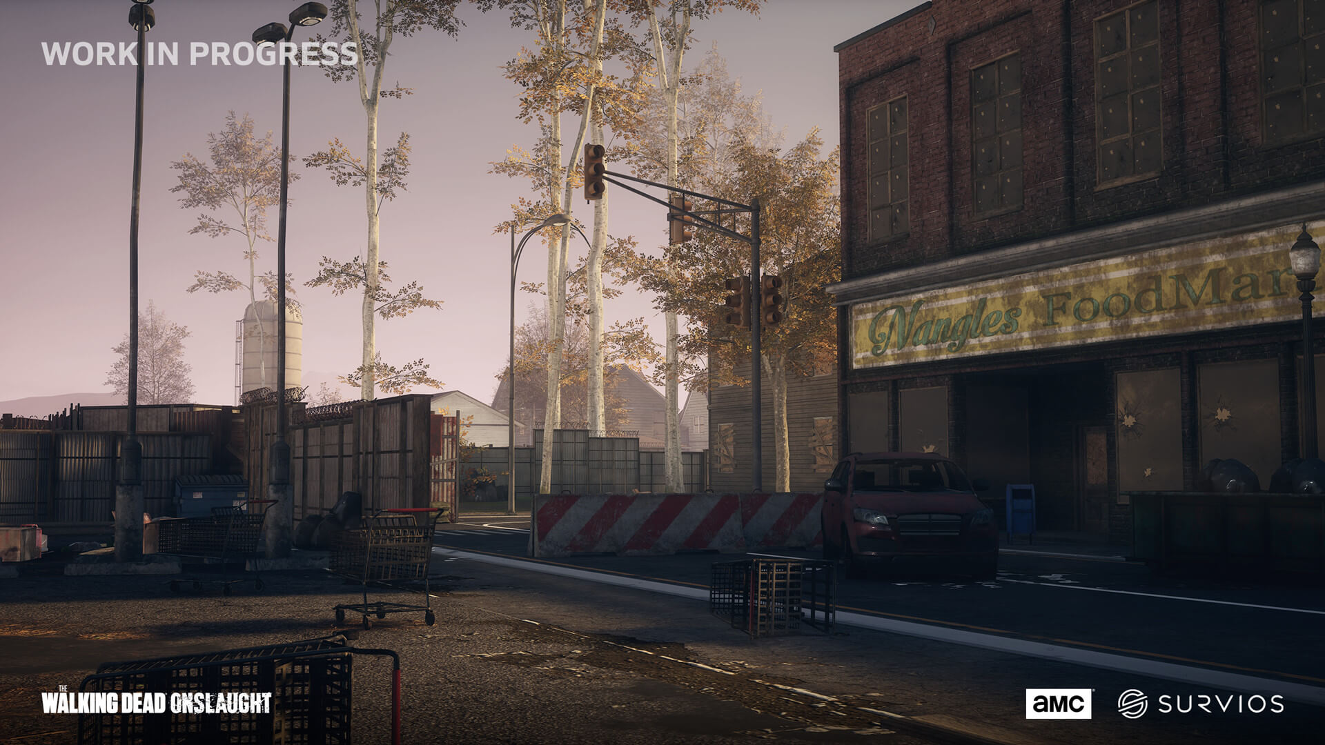 The Walking Dead Onslaught is a brand new official VR game based on AMC's The Walking Dead
