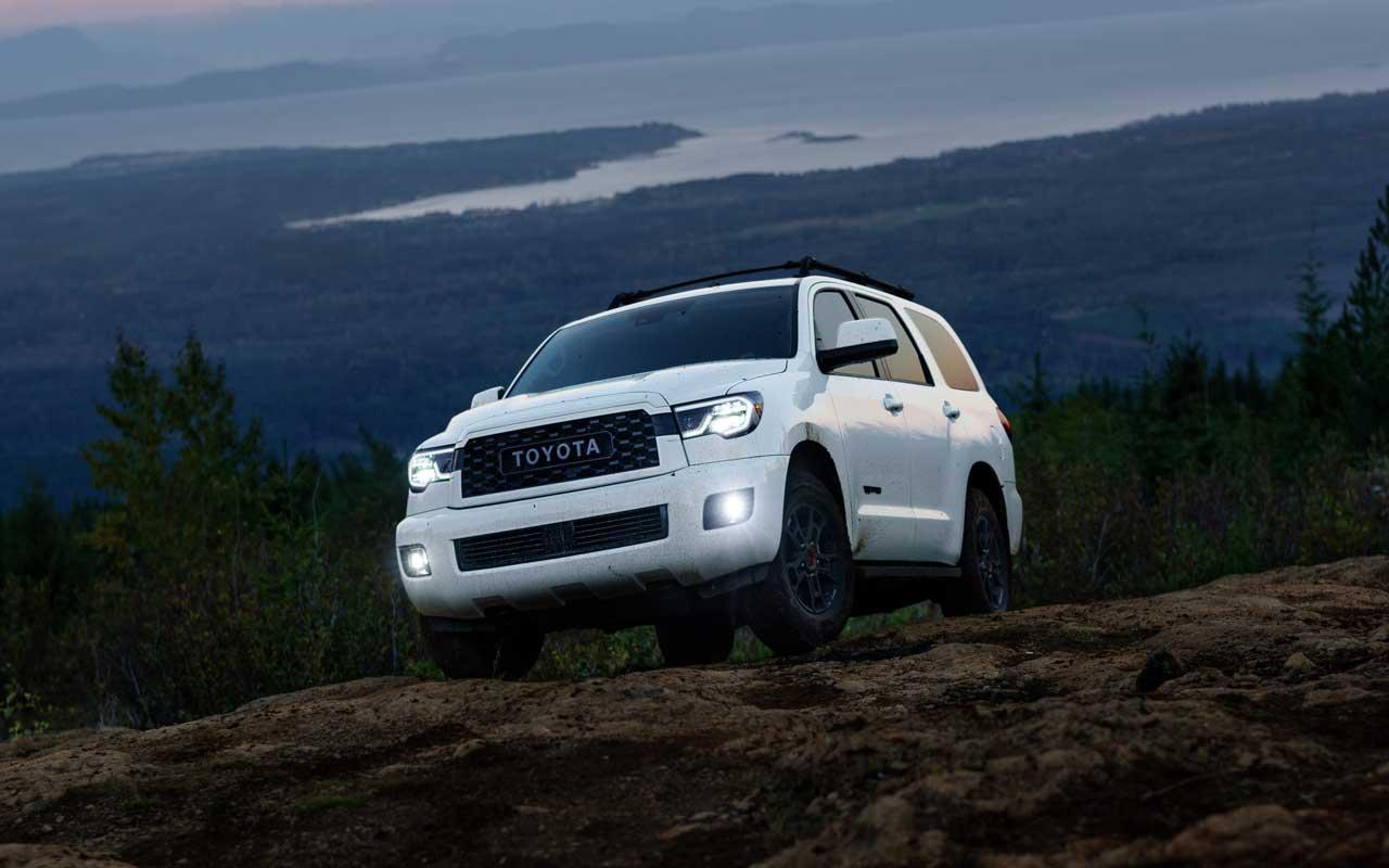 Toyota Sequoia TRD Pro 2020 recebe Fox Shocks e modo multi-padrão ...