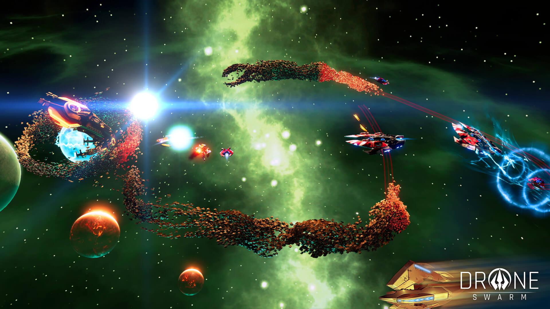 Trailer de teaser de jogabilidade lançado para o jogo de estratégia de ficção científica, Drone Swarm