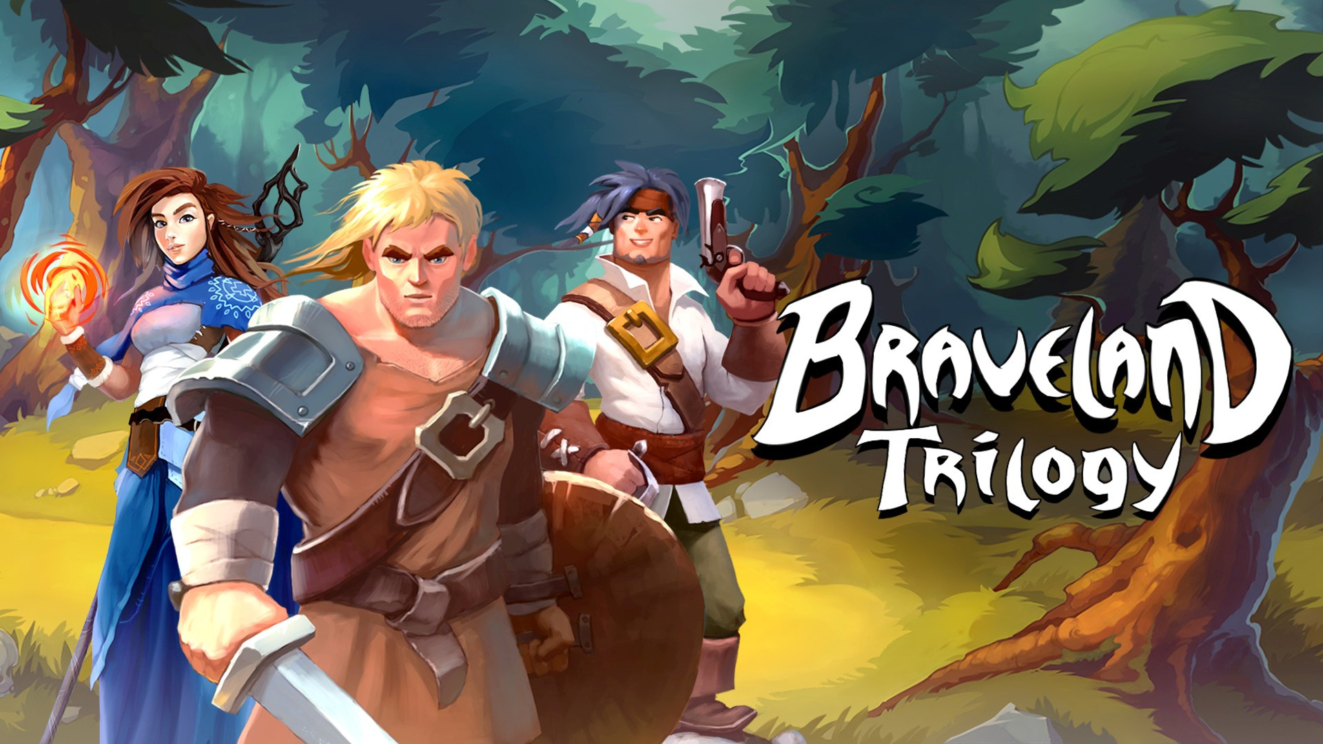 Três histórias de aventura brilhantes no jogo de estratégia baseado em turnos da Braveland Trilogy