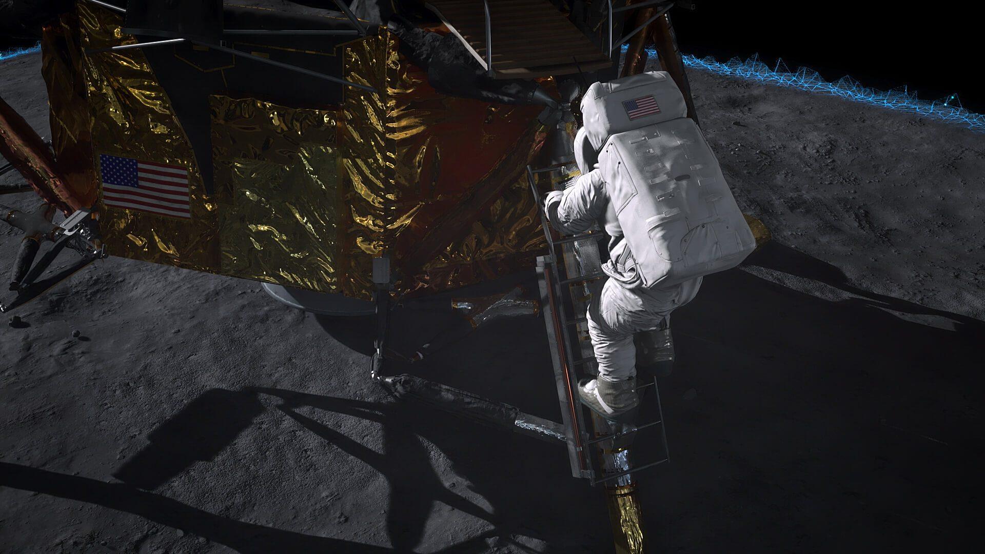 Unreal Engine 4 Apollo 11 Mission AR para Microsoft HoloLens 2 ...