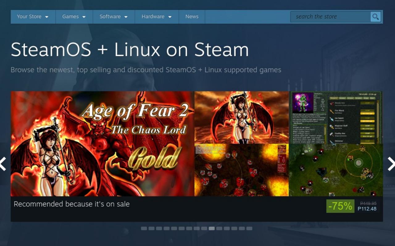 Vapor para abandonar o suporte ao Ubuntu, mas os usuários do Linux não devem entrar em pânico ...