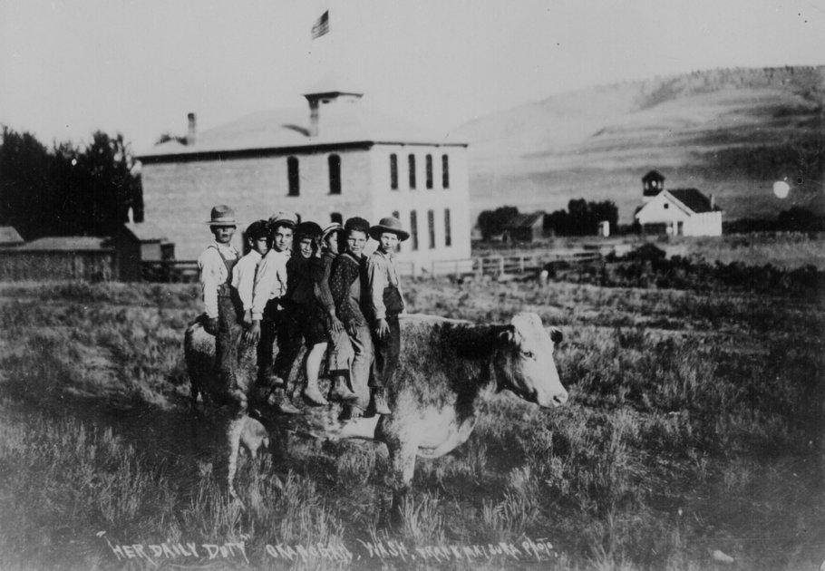 Vivendo no Velho Oeste: Fotos dos primeiros dias de ...
