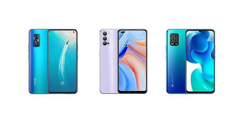 Vivo V19 Neo vs Oppo Reno4 vs Xiaomi Mi 10 Lite: Specs Comparison