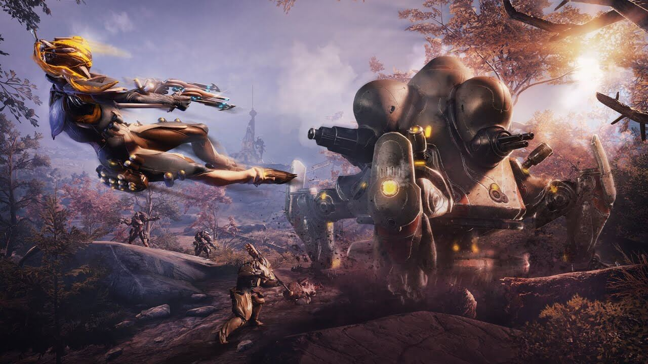 Warframe – Plains of Eidolon Remaster is now available for free on the PC, overhauling its visuals
