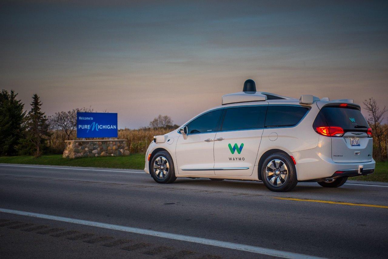 Waymo escolhe Michigan para fabricação de veículos autônomos