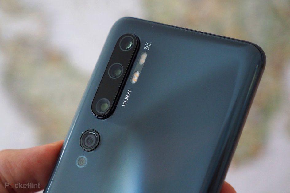 Xiaomi Mi Note 11 inclinado para oferecer zoom óptico de 12x e zoom digital de 120x