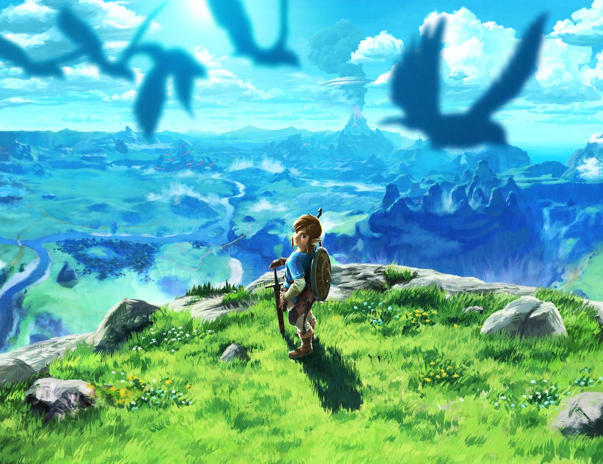 Zelda: Breath Of The Wild foi adicionado à linha do tempo oficial