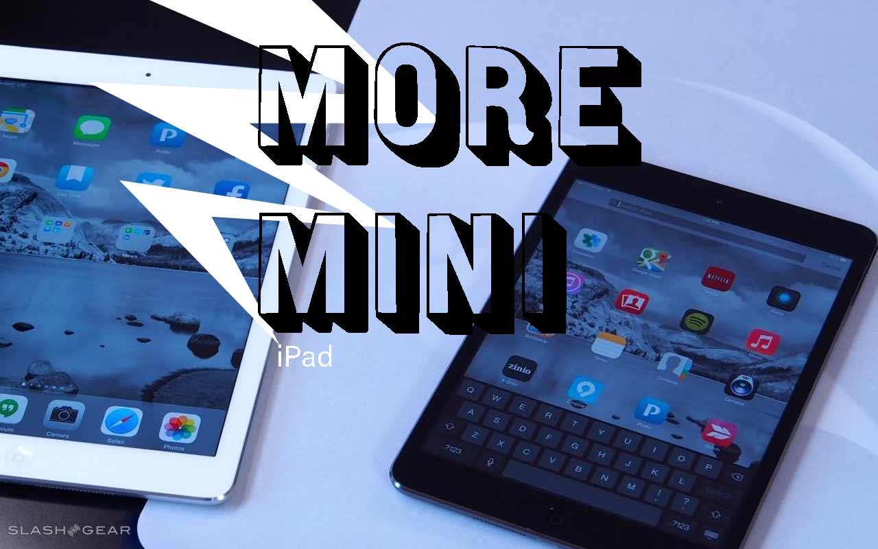 iPad mini 5 inclinado para cortar custos, mesmo com aumento de recursos