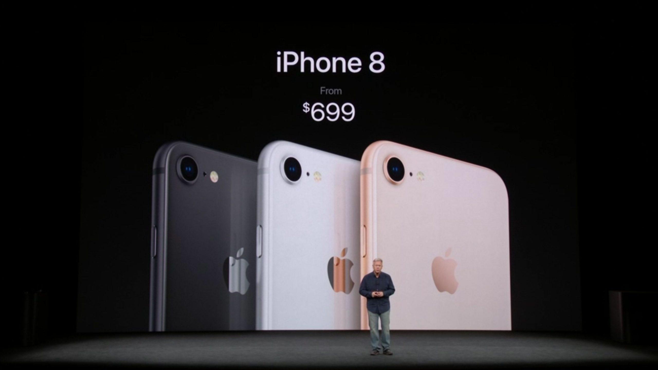iPhone 8, 8 Plus, Apple Watch Series 3 e Apple TV ...