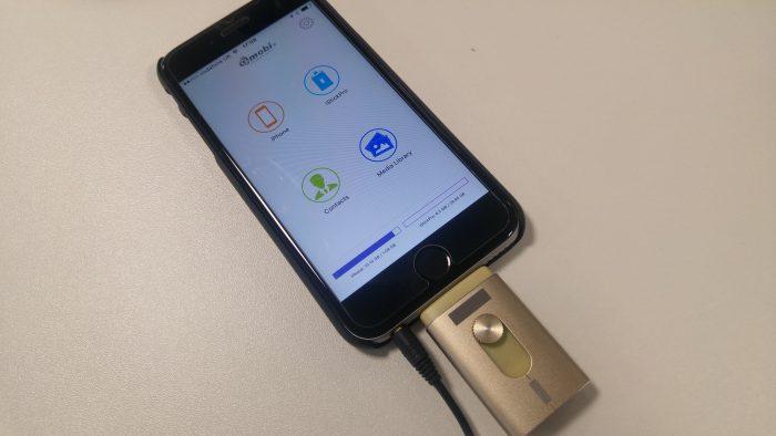 Aidrive 32GB i Flash Drive comentário