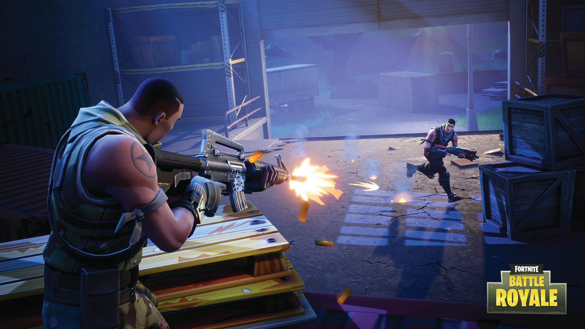 Fornite Battle Royale Captura de tela