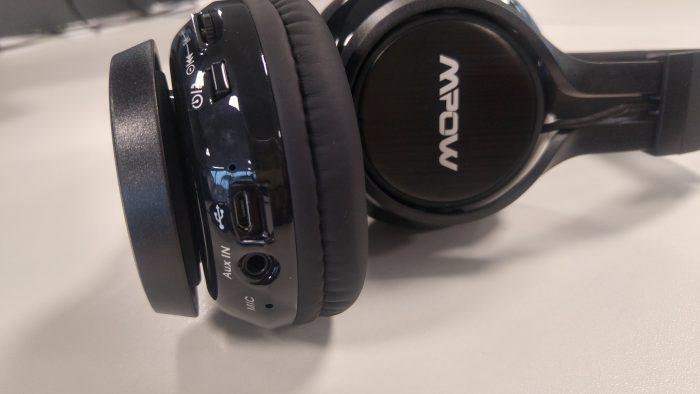 Revisão dos fones de ouvido dobráveis Bluetooth Mpow Thor