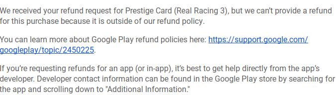 Nas compras de aplicativos no Android.  Isto está quebrado.  Resolver isso.  Agora.