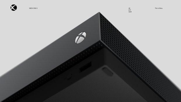 Imagem de recursos do Xbox One X