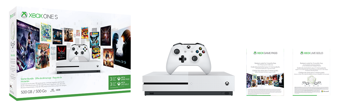 Pacote Inicial do Xbox One S
