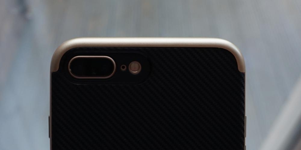 Revisão do caso do iPhone 7 Plus Olixar X Duo Carbon