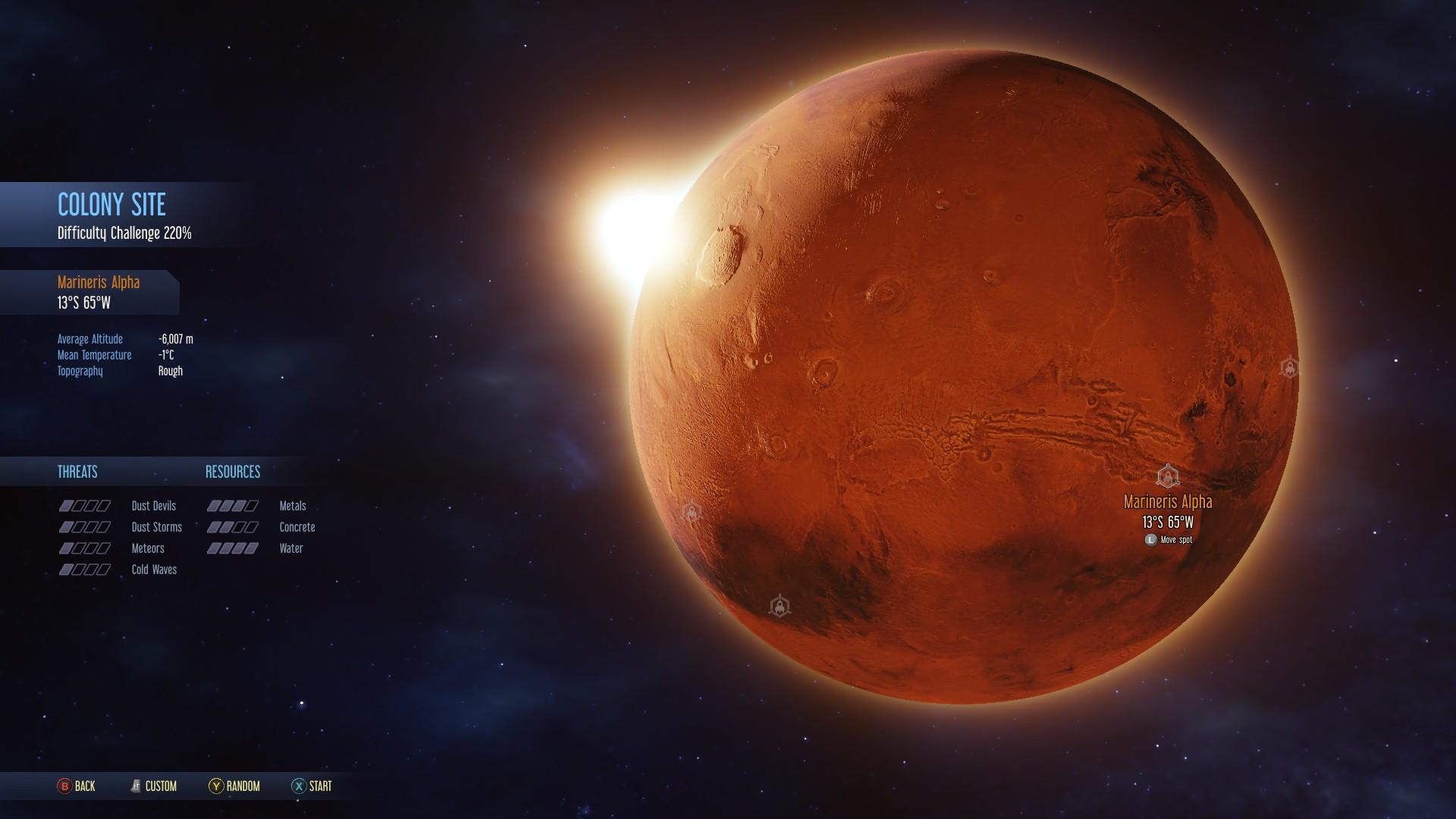 Marte sobrevivente