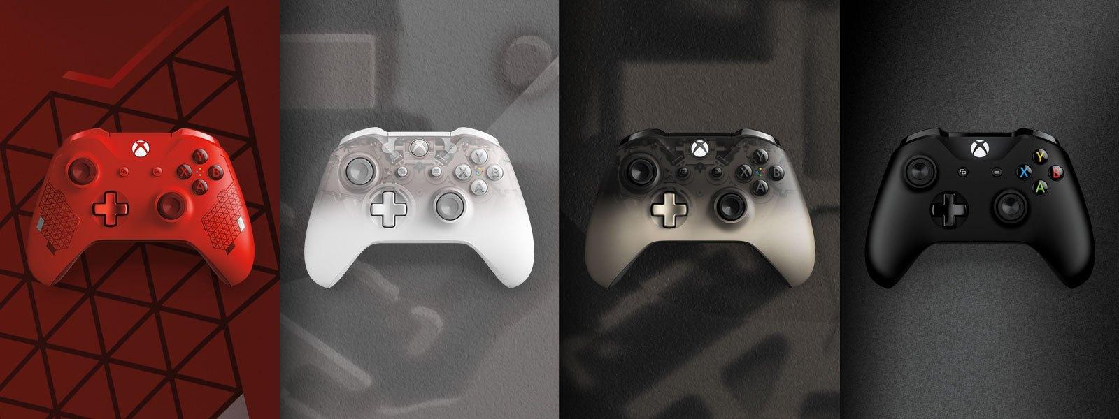 Controladores de recursos do Xbox One