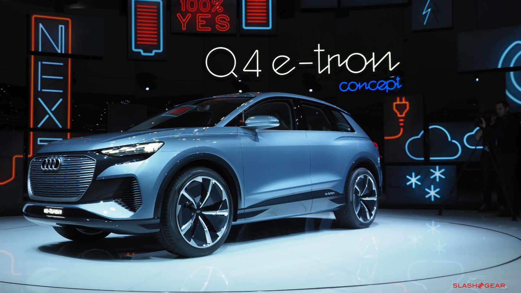 2021 Audi Q4 e-tron preços poderia fazer deste o ponto de inflexão