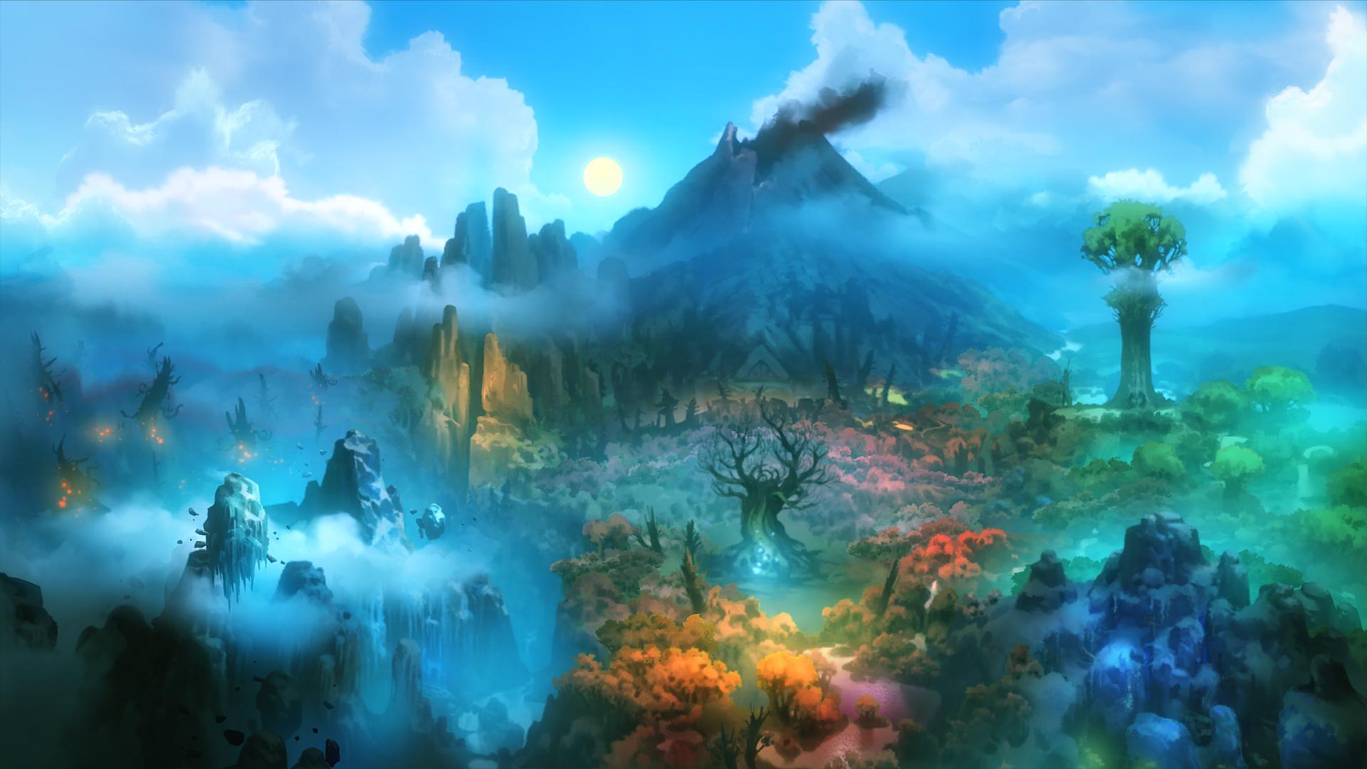 A arte de Ori e a floresta cega