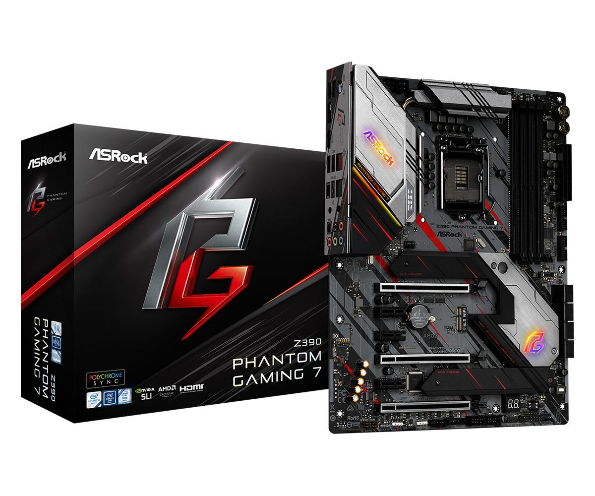 ASRock anuncia novas placas-mãe Phantom Gaming Z390