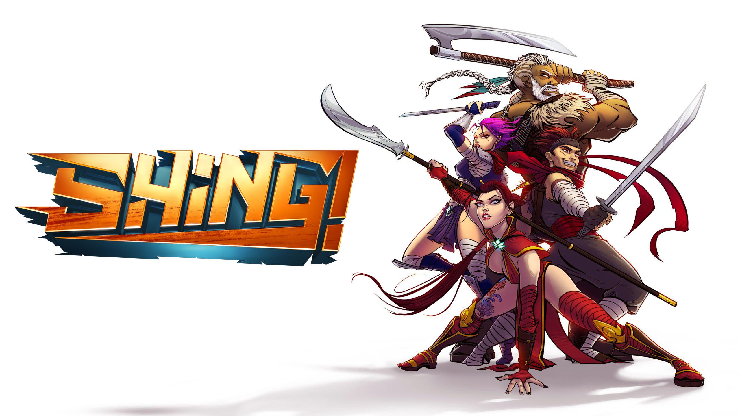 Ação Indie Beat 'Em Up Game Shing!  Anunciado para PC e ...