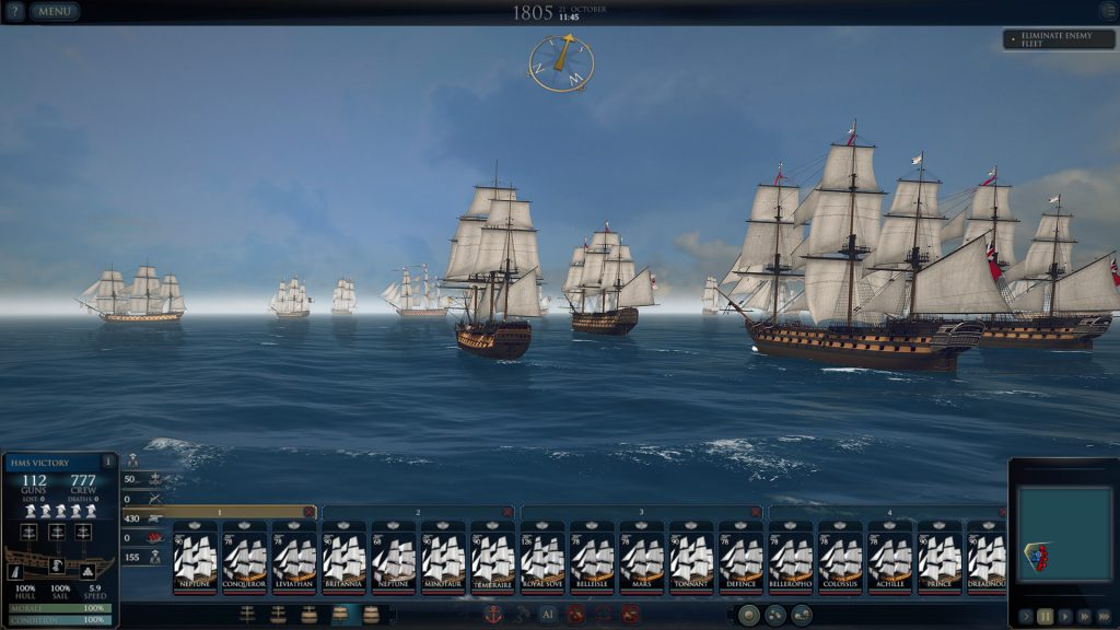 Almirante Supremo: Era da Vela