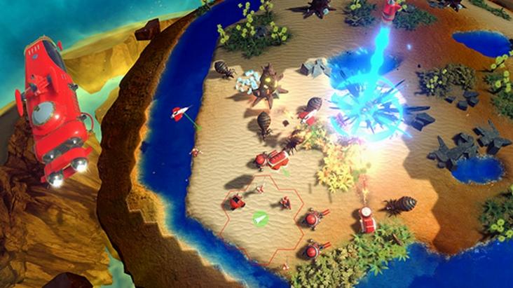 "Anunciado jogo RTS baseado em hexadecimal ""Tactical Galactical"""