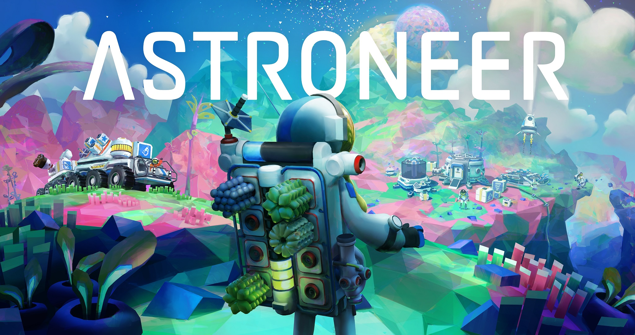 Astroneer Hits Versão Completa em 6 de fevereiro de 2019