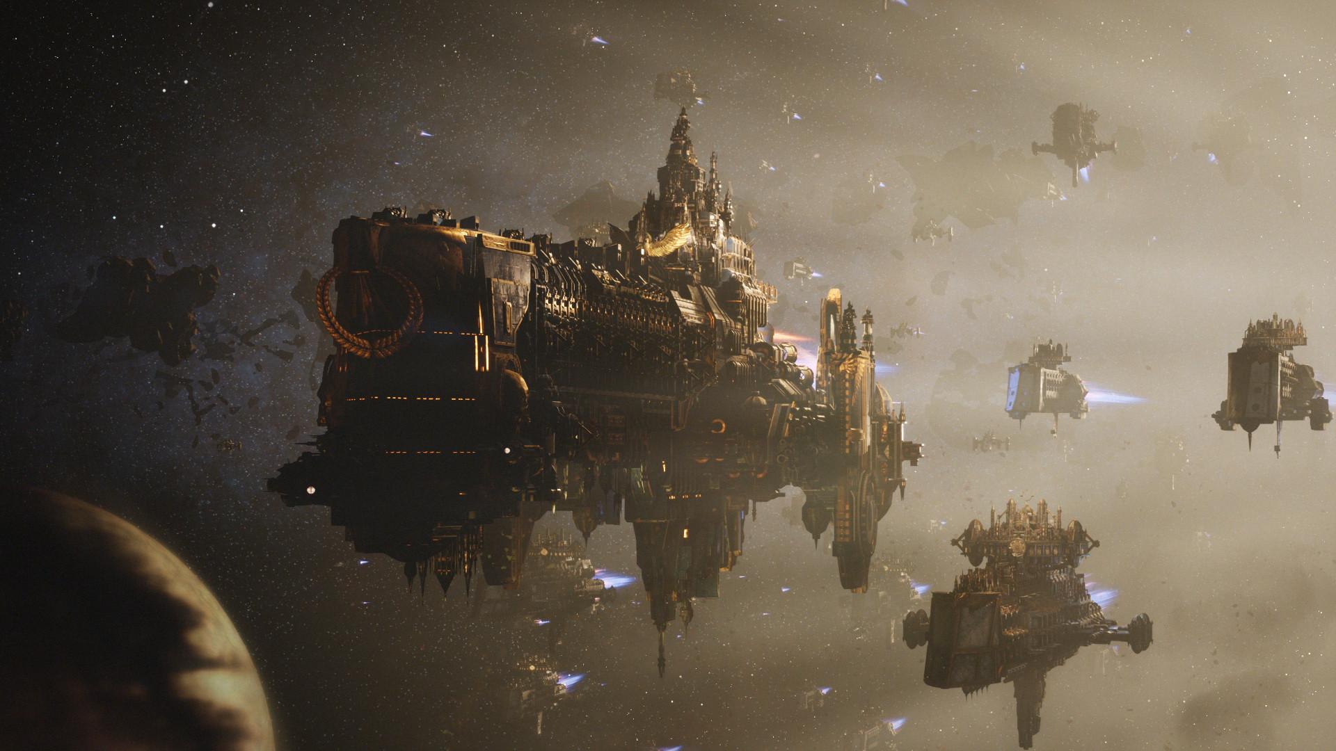 Battlefleet Gothic: Armada 2 adiado para janeiro de 2019
