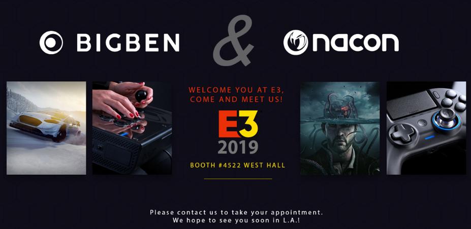 Bigben confirma a programação da E3 2019